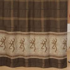 browning buckmark shower curtain brown browning target