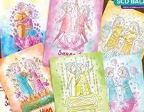 Creative Indian Wedding Invitations Scd Balaji Indian Illustrator On Behance