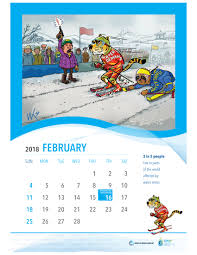 tricycle cartoon celebrate 2018 with 12 cartoons on water and sanitation