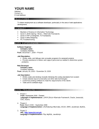Resume Sample Copy Paste by Effective Resume Resume For Your Job Application