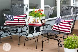 4th of july front porch ideas patriotic outdoor decorations for