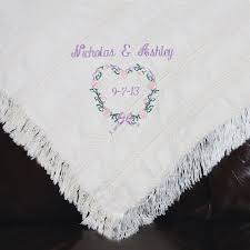 personalized wedding blanket personalized heartwarming wedding anniversary blanket walmart