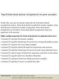 medical receptionist resume cover letter reception resume sample
