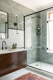 bathroom design idea black shower frames contemporist bathroom design ideas black shower frames the black elements of this bathroom including