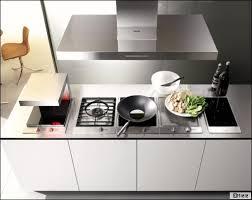 calcul debit hotte cuisine ouverte habiller sa cuisine quelle hotte choisir travaux com