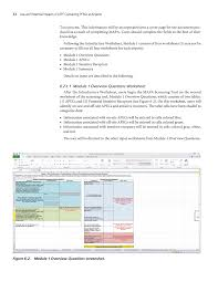 chapter 6 screening tool guidance use and potential impacts of