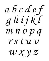 printable alphabet mat calligraphy lower case alphabet mat throughout fancy calligraphy
