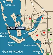 Fort Myers Florida Map by Map Directions