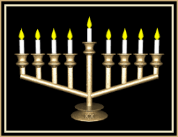 menorah candles chanukah happy hanukkah lighting menorah candles and spinning