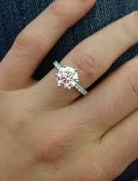 2 carat solitaire engagement rings 2 carat solitaire engagement rings on a 4 ifec ci