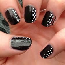 black and blue nail art nails gallery