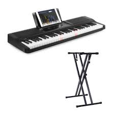 keyboard that lights up to teach you how to play the one smart piano light keyboard 61 key portable keyboard electric