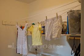 Clothes Line Dryer Indoor Lady Goats Free Or Very Cheap Diy Indoor Clothesline