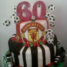 manchester united 60th birthday cake breadahead novelty