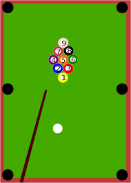 Free Pool Tables Pool Table Clip Art Free Vector In Open Office Drawing Svg Svg
