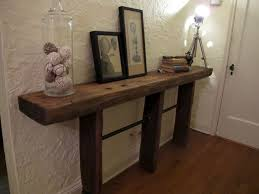 Diy Console Table Plans by Front Doors Front Door Table Diy Front Door Table Front Door