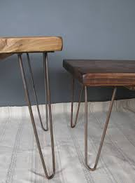 Hairpin Legs Coffee Table Reclaimed Scaffold Board Hairpin Leg Coffee Table By Seagirl And