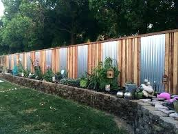 fence ideas for small backyard temporary fencing ideas best privacy fences ideas on backyard