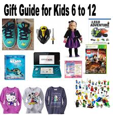 gift guide for 6 to 12