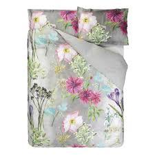 designers guild madhuri camellia duvet cover set elegant linen