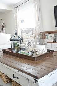 Tray Coffee Table Best 25 Coffee Table Tray Ideas On Pinterest Xmas Decorations