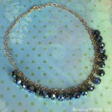 black crystal necklace images Black crystal necklace running with sisters jpg