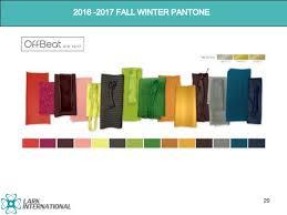 fall 2017 pantone colors trend report 2016 2017 fall winter