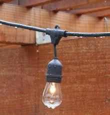String Patio Lights by Top Outdoor String Lights For The Holidays Teak Patio Furniture