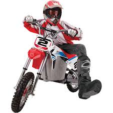 red dirt bike boots razor dirt rocket sx500 mcgrath walmart com