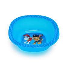 paw patrol bowl blue