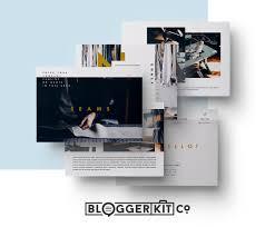 Home Design Media Kit Media Kit Template Seams Diy Media Kit Templates Blogging