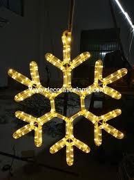 outdoor hanging snowflake lights outdoor ornament christmas hanging snowflake motif led light