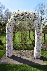 wedding arches toronto wedding ceremony flowers decorations at the graydon manor
