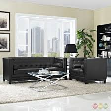 Tufted Living Room Set Tufted Leather Living Room Set Carameloffers