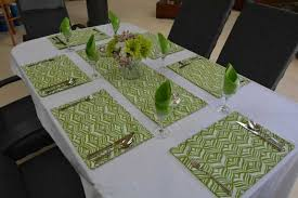 table setting runner and placemats placemats runners cushions n covers