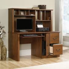 White Computer Desk With Hutch Sale Orchard Computer Desk With Hutch 418650 Sauder