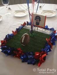 Football Banquet Centerpiece Ideas by Classroom Superbowl Party Ideas Football Homemade And Super Bowl
