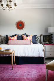 awesome images of blue and orange bedroom design and decoration