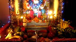 home decoration of ganpati 2011 by nilesh sony u0026 chaitanya