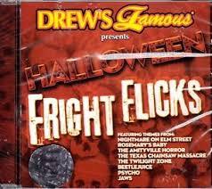drew u0027s famous halloween fright flicks movie soundtrack themes