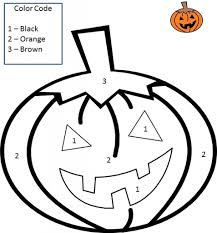 halloween numbers printable coloring by numbers halloween with halloween color by number