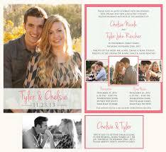 wedding announcements printable wedding announcement lds mormon wedding invitation