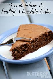 southern in law recipe healthy chocolate cake vegan too