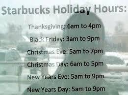 starbucks hours on day decore with starbucks