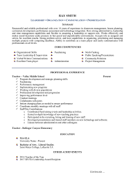 Core Competencies Resume Examples Before And After Resume Examples U2013 Resumeyard