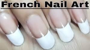 french nail polish art designs at home tutorial youtube
