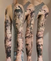 53 attractive map tattoos for arm