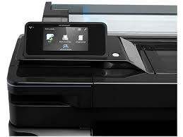 hp design hp designjet t520 36 in 914 mm printer plotter depot direct