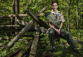 new paris boy scout achieves prestigious ranking
