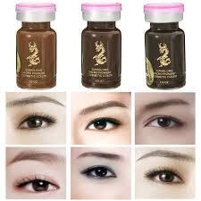 permanent eyebrow tattoo pigment 3d micropigmentation brows ink